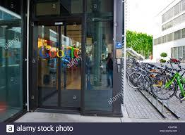 google zurich the swiss branch of google zurich switzerland stock photo
