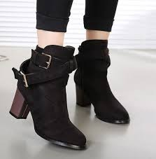 buy boots cheap india buy fashion buckle high heels boots shopping india 7454