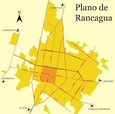 Plano Map Plano De Rancagua U2022 Mapsof Net