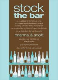 stock the bar invitations stock the bar party invitations marialonghi