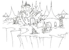 disney princess castle coloring pages kids gekimoe u2022 67227
