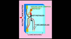 how to wire a half or switched outlet 87 youtube