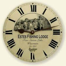 personalized clocks with pictures family picture clock family photo wall clock borin clocks