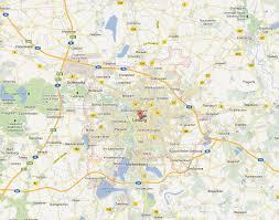 map of leipzig leipzig map and leipzig satellite image