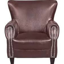 Burgundy Accent Chair Monarch Specialties Leather Look Accent Chair In Burgundy Living