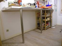 plan de travail sur pied cuisine plan de travail avec pied cuisine obasinc com thoigian info