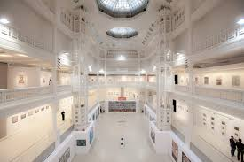 national contemporary and modern art museum of algiers interior