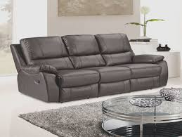 faux leather reclining sofa layla dark brown faux leather reclining sofa with drop down tea