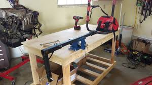 harbor freight welding table diy bike stand from harbor freight bike rack did it myself