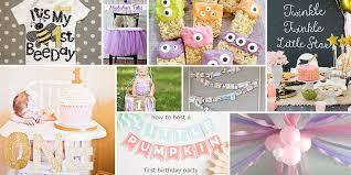 baby girl 1st birthday ideas 1st birthday party ideas birthday in a box