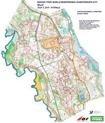 Java World Map by Woc Relay Men Leg 1 July 7th 2017 Orienteering Map From