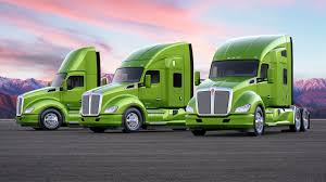 kenworth trucks photos photo lorry kenworth t680 yellow green cars three 3 2560x1440