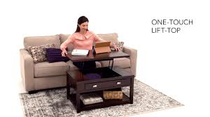 hatsuko lift top cocktail table from ashley youtube