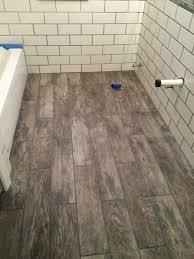 Laminate Floor Tiles Home Depot Marazzi Tile Rustic From Home Depot With Pewter Grout Bathroom