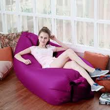 akface inflatable lounger chair air sleep sofa bed furniture