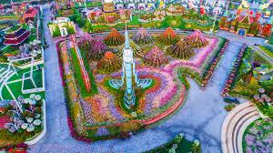 this is the world u0027s largest natural flower garden evonews