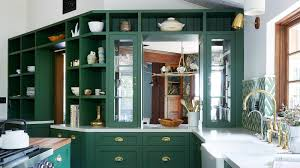 green kitchen cabinets green kitchens are a moment architectural digest