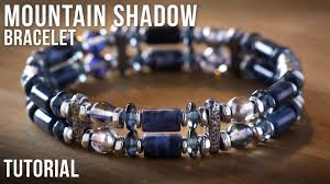 double beaded bracelet images Mountain shadow double strand beaded bracelet idea jewelry jpg