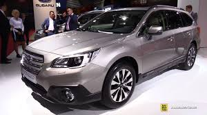 2017 subaru outback 2 5i limited interior 2017 subaru outback 2 5i exclusive exterior and interior