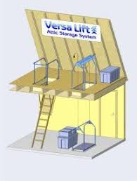 attic storage lift kitchen pinterest attic storage attic