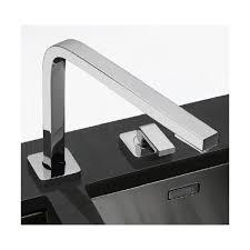 robinet cuisine avec douchette franke mitigeur évier franke quantum two à bec escamotable pour ouverture