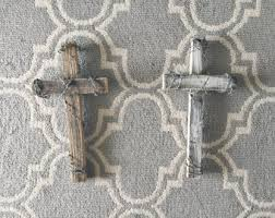 Barbed Wire Home Decor Barbed Wire Cross Etsy