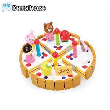 jeux cuisine gateau dentaire maison en bois bébé cuisine jouets jeux de simulation de
