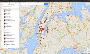 New York City Map Google by My New York Bucket List U2013 Daniel Lanciana U2013 Medium
