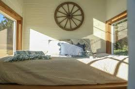 Bedroom Rustic - rustic tiny home by tiny heirloom tiny living