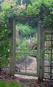 264 best garden gates images on pinterest gardening garden fantastic garden gate it must make the wood smacking noise when it closes