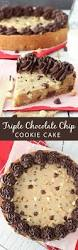 best 25 triple chocolate chip cookies ideas on pinterest triple