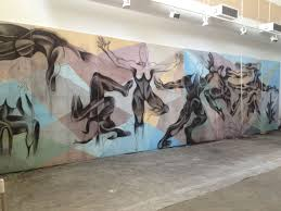 marilyn huerta artist community liaison art is a tool that 8 dimensions mural at the clarke csusm