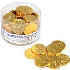 hanukkah chocolate coins hanukah chocolate gelt chocolate gold coins