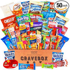 gift baskets for college students cravebox deluxe care package snack box gift