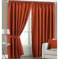 Burnt Orange Curtains Sale Burnt Orange Curtains Amazon Co Uk