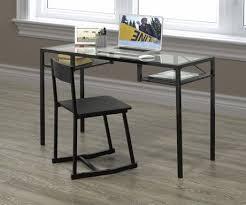 Small Black Desk Canada Brassex Writing Desk U0026 Chair Set Black Walmart Canada
