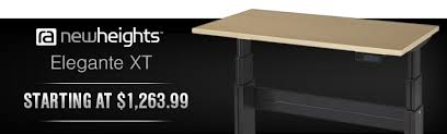 Stand Up Reception Desk Newheights Elegante Desks The Best Stand Up Desk