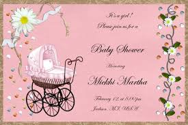 impactful homemade baby shower invitations by luxury baby 5468