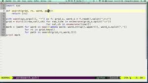 wordsearch python youtube