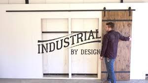 Barn Door Hardware Installation Step By Step 13 U0027 Double Barn Door Hardware Installation