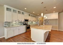Outlook Luxury Modern Kitchen Brand New Stock Photo 471936938 Usa House Interior Design