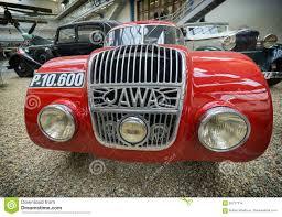 prague car prague czech republic may 2017 car java 750 1934 year in