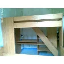 lit mezzanine avec bureau intégré lit mezzanine avec bureau integre conforama lit bureau mezzanine