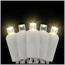 warm white led twinkle lights warm white led 50 rectified conical twinkle light set on white cord