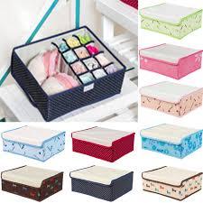 12 cell nonwoven folding underwear organizer closet drawer storage