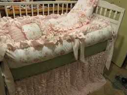Custom Crib Bedding Sets Shabby Chic Crib Bedding Sets How To Remove Yellow Shabby Chic