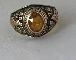 ohio state alumni ring vintage college class ring etsy