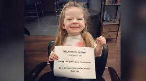 three year old hair dos 3 year old s selfless act goes viral she can have some of my hair