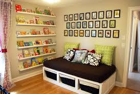 Modern Kids Bookshelf Home Organization Modern Colorfull Door Kids Book Storage Design