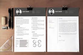 Resume Template With Cover Letter Water Color Resume Template Cv Cover Letter By Showy68template